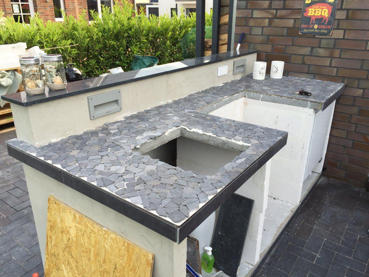 GRILLKÜCHE (klein aber fein) | Outdoor küche selber bauen ...