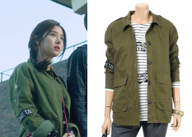 "Kim So-Eun 김소은 in ""Liar Game"" Episode 2.  Le Shop LE8YS450 Jacket #Kdrama #LiarGame 라이어 게임 #KimSoEun"