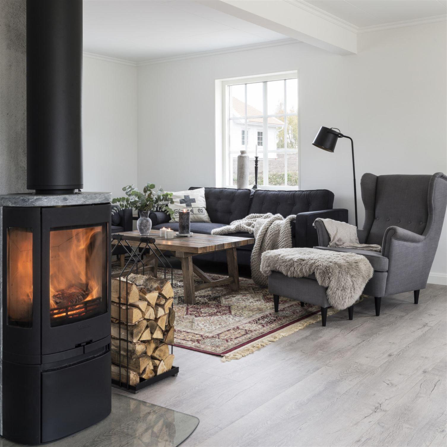 Une maison suédoise et neuve pleine de charme , PLANETE DECO