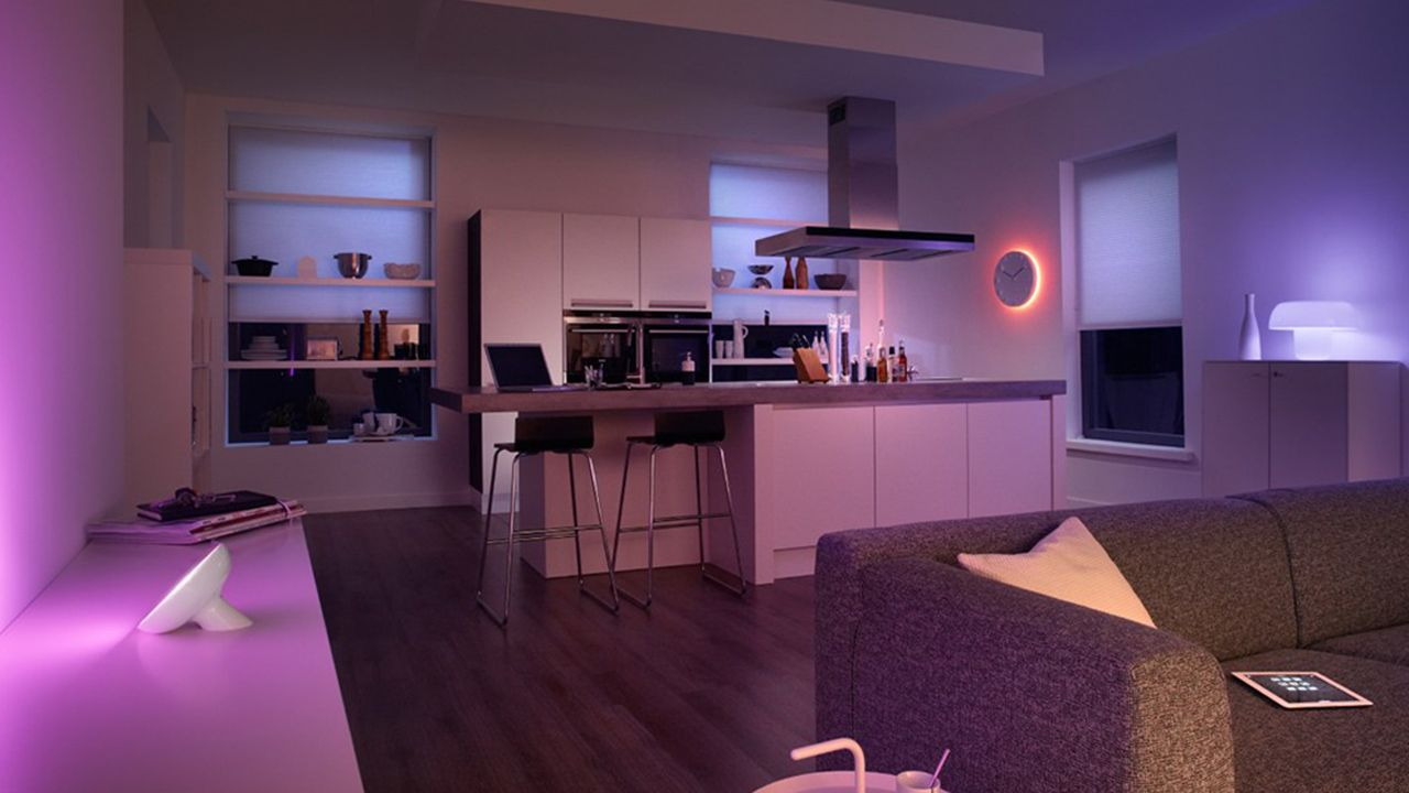 Nice Philips Hue Setup #smartlighting #hue #bloom #automation ...