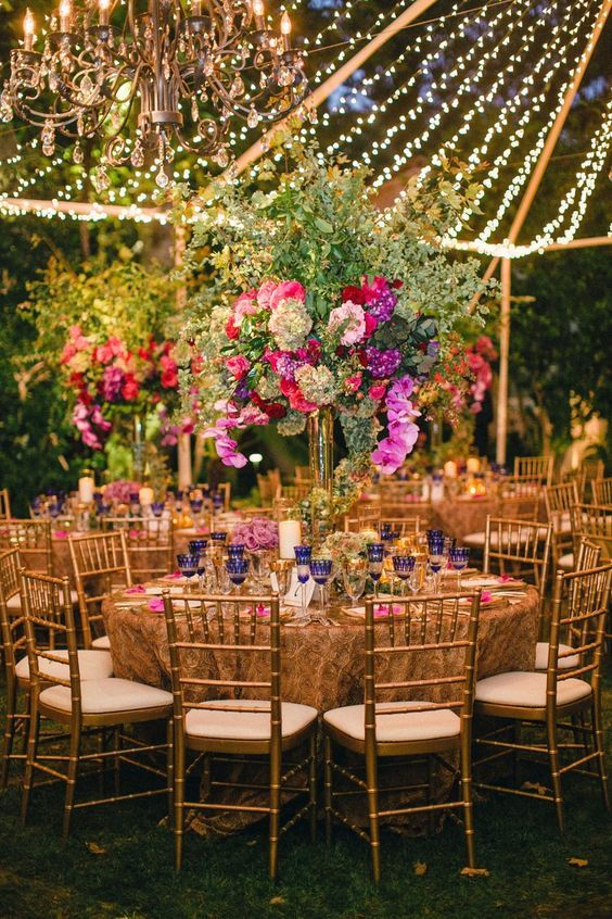 Decor Inspiration For The Bride Who Dreams Of An Outdoor Wedding