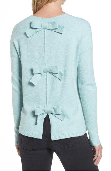 57942d03ad5c2 Main Image - Halogen® Bow Back Sweater