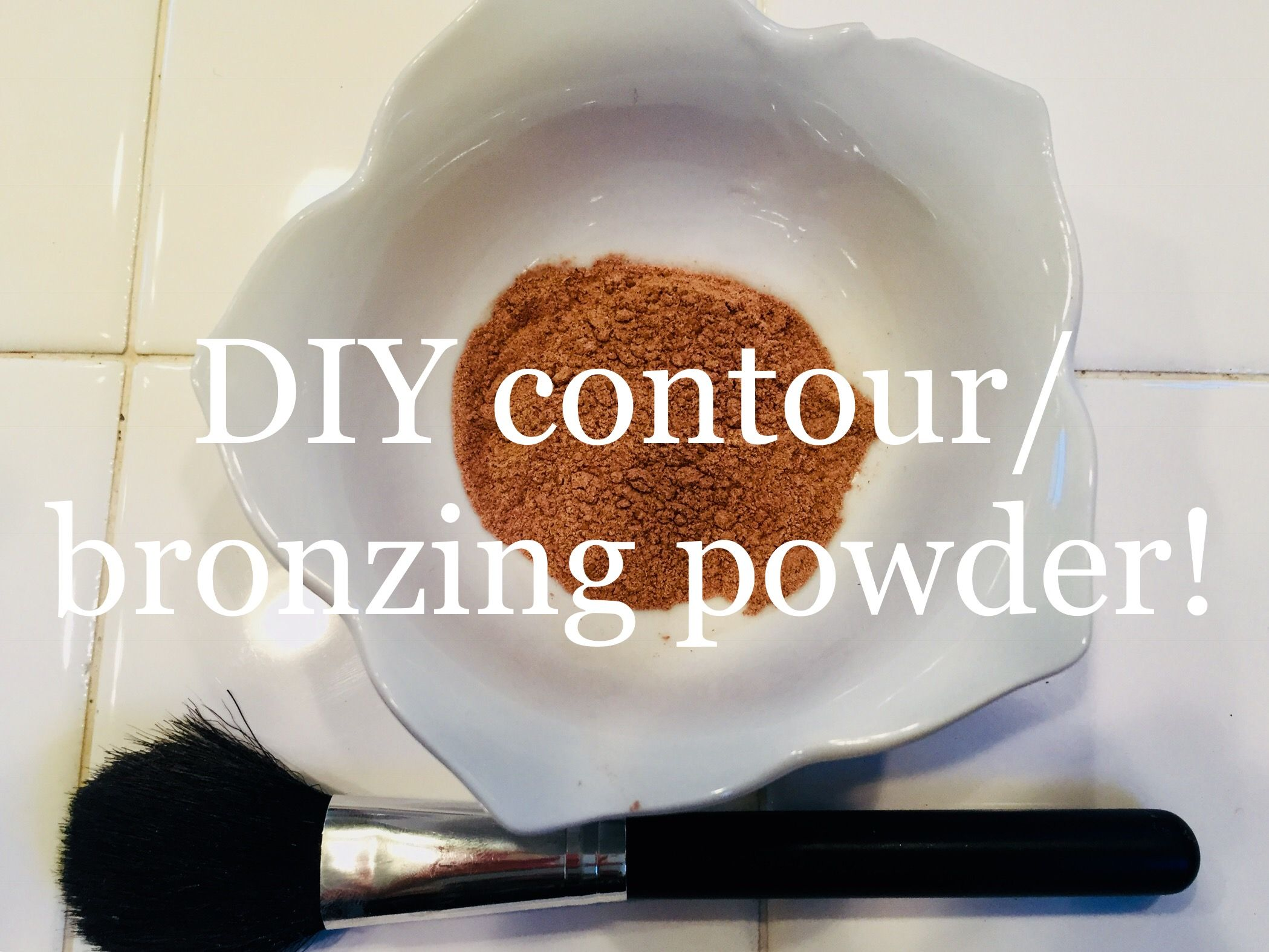 Heres What You Will Need To Make This Diy Contour