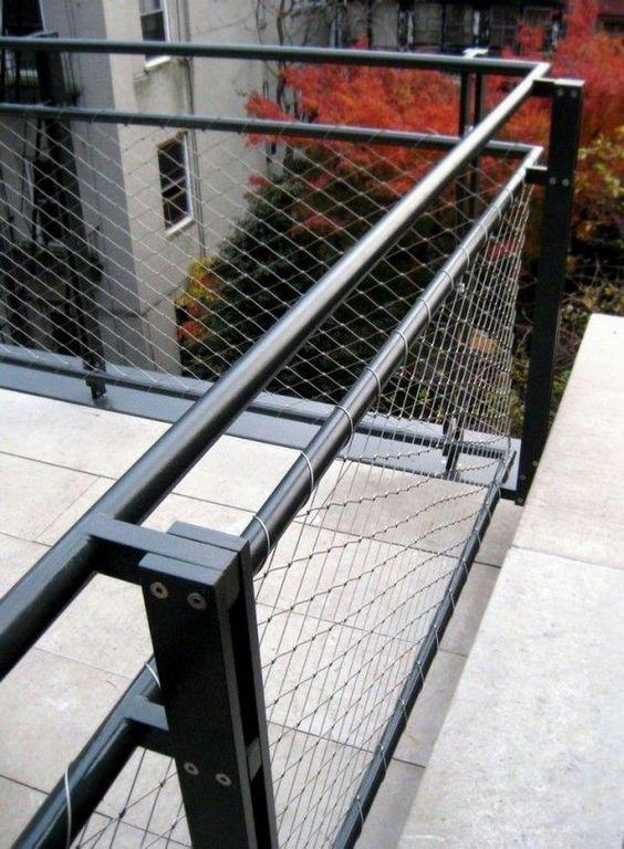 Beautiful Metal Wire And Steel Deck Railing. Metal+guard+rail Stainless Steel Deck  Rails
