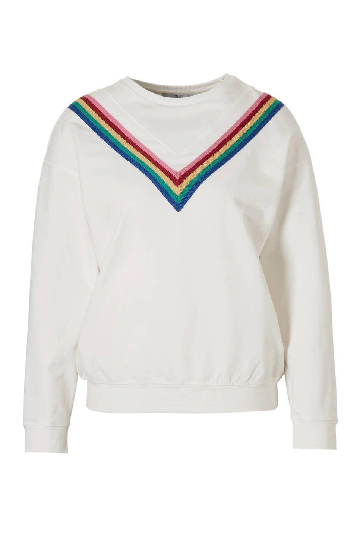 Streep Trui Dames.Edc Women Sweater Met Strepen In 2019 Trend Strepen Sweaters