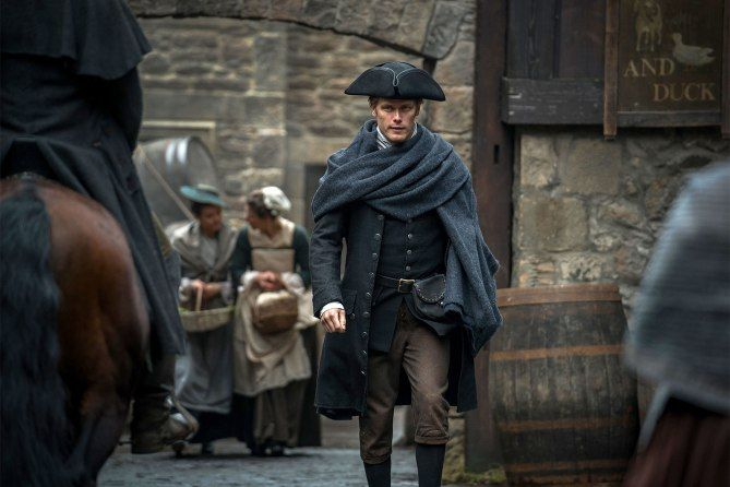 Outlander: Claire and Jamie Head to the Bedroom in Latest Photos
