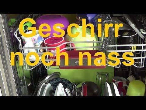 Spülmaschine nicht Geschirrspüler zum trocknen