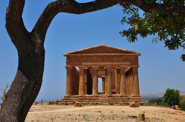 Valley of the Temples, Agrigento, Italy