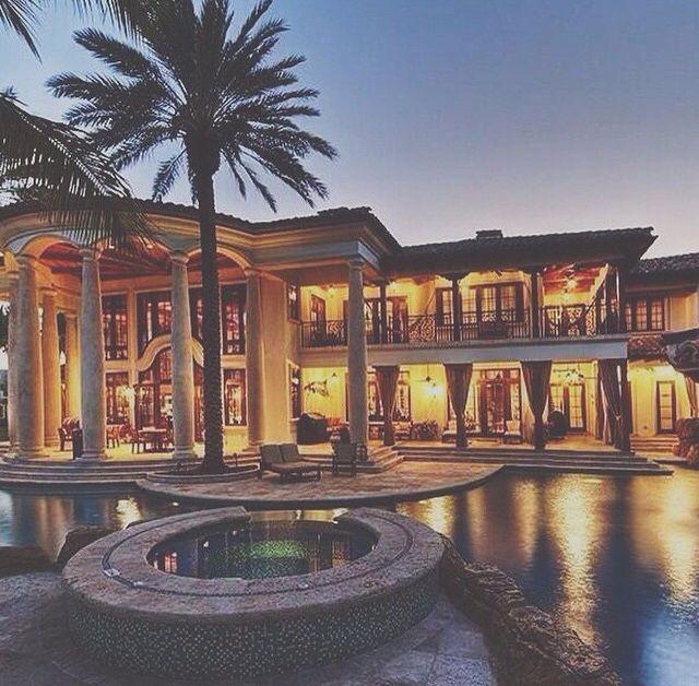 Mediterranean Style Homes In Florida: Pinterest: @BrittanyNiemer☼☽