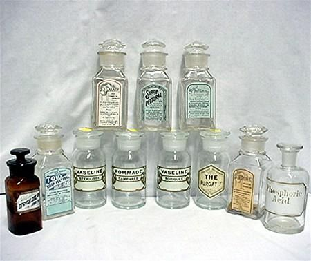 Antique Gl Apothecary Jar By T C W Co For Vaseline