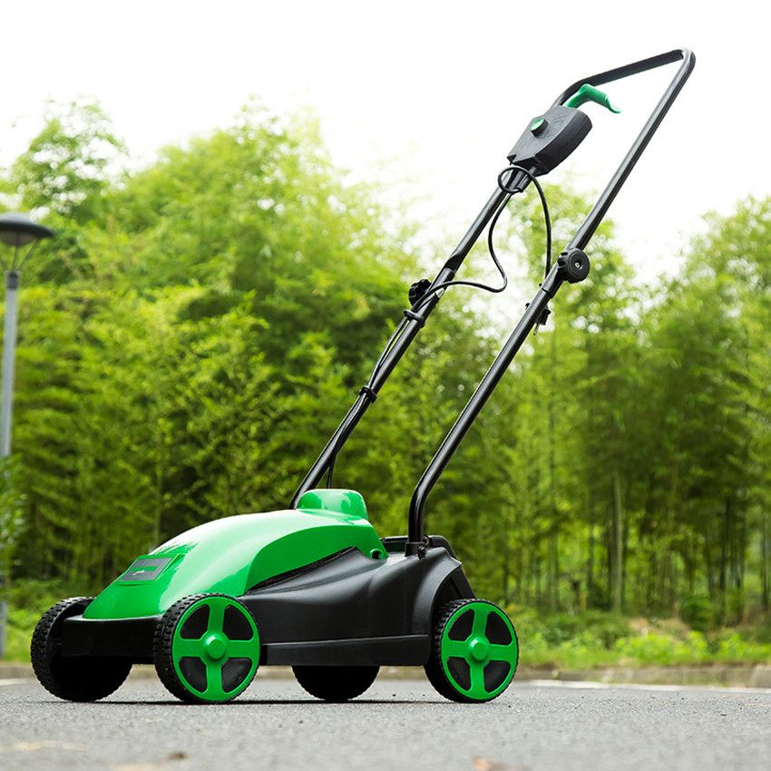 New Arrival 1500w Home Electric Lawn Mower Touching Lawn Mowers Push Type Lawn Mower 230v 240v 50hz 330mm 2900r Min Garden Supplies Electric House Lawn Mower