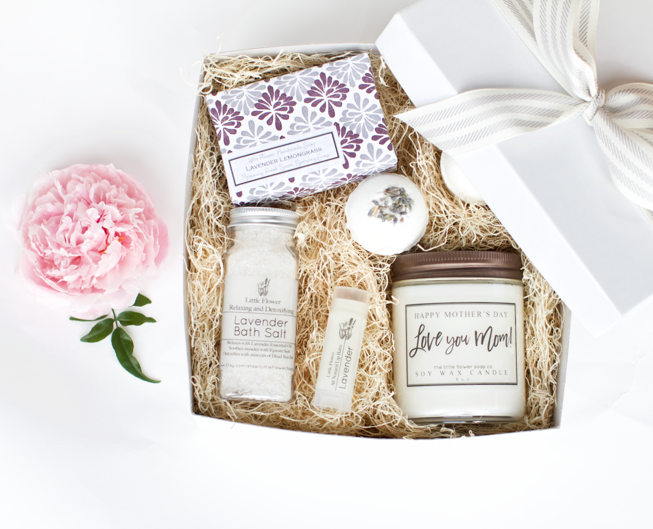 Mothers Day Gift Relaxing Spa Box Lavender