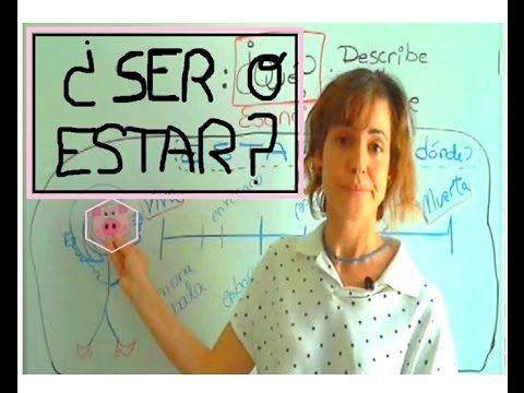 SER o ESTAR, la diferencia / Nivel B2 - Spagnolistico