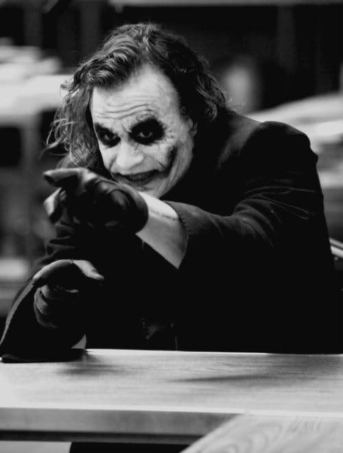 Heath Ledger's Joker - The Dark Knight (2008)