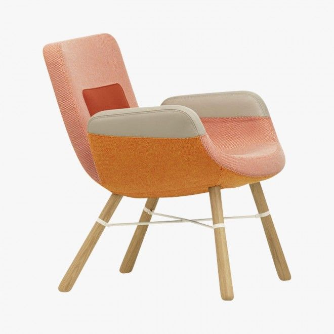 East River Chair Orange, Hella Jongerius, 2014 : Chaises et Bancs Vitra - Le Bon Marché Rive Gauche