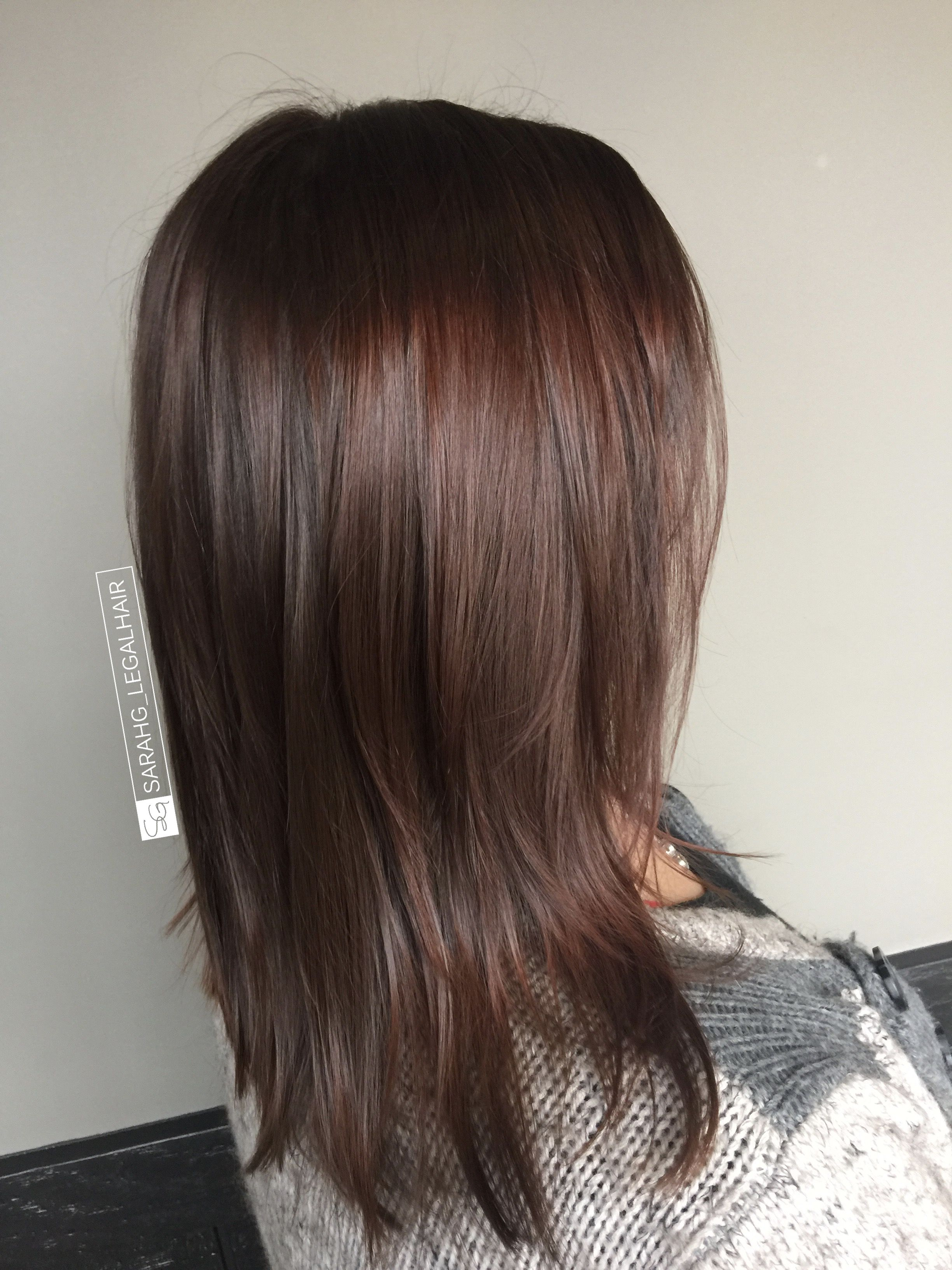 Rich Cinnamon Brown And Dark Chocolate Deep Hair Color Redken Shades Eq