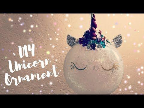 1 How To Make Unicorn Ornaments Diy Cricut Christmas Decorations