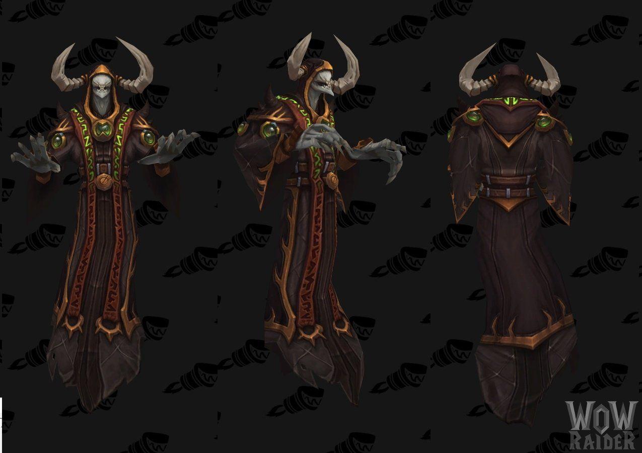 World of Warcraft Legion: Альфа - Изображения боссов
