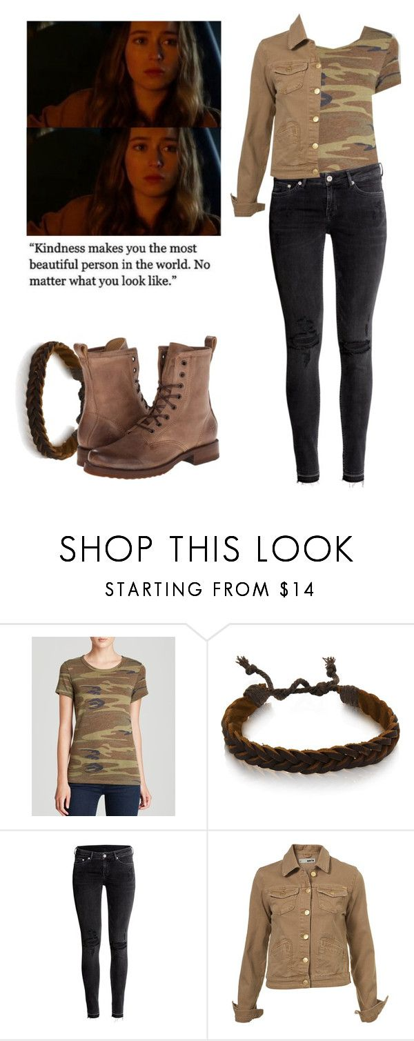 """""""Alicia Clark - ftwd / fear the walking dead"""" by shadyannon ❤ liked on Polyvore featuring Alternative, Gioelli Designs, H&M and Frye"""