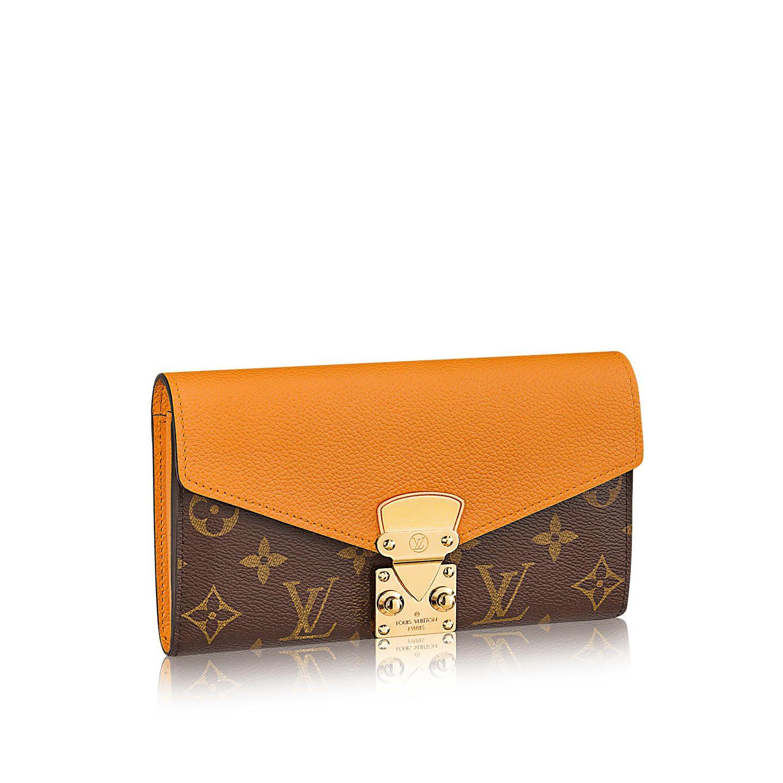 f6515bfdf Cartera Pallas Monogram Taurillon Leather Mujer Pequeña Marroquinería  Carteras | LOUIS VUITTON