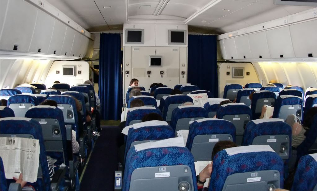 Pin On All Things Aviation Airliner Cabins