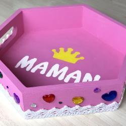 Mini plateau fête des mères par tête à modeler en 2020 | Cadeaux mignons, Cadeau fête des mères ...