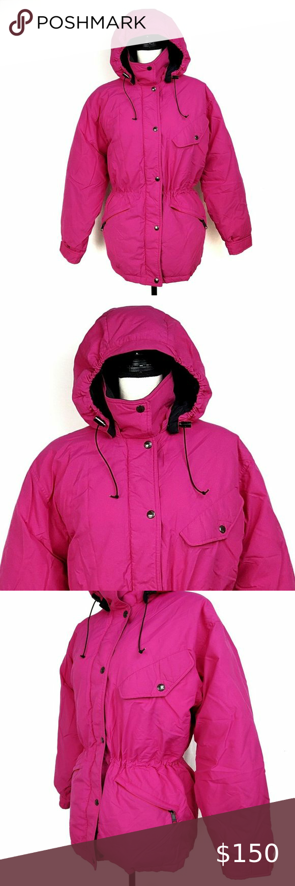 The North Face Jacket Pink Black Down Filled Parka North Face Jacket North Face Hyvent Jacket Black Down [ 1740 x 580 Pixel ]