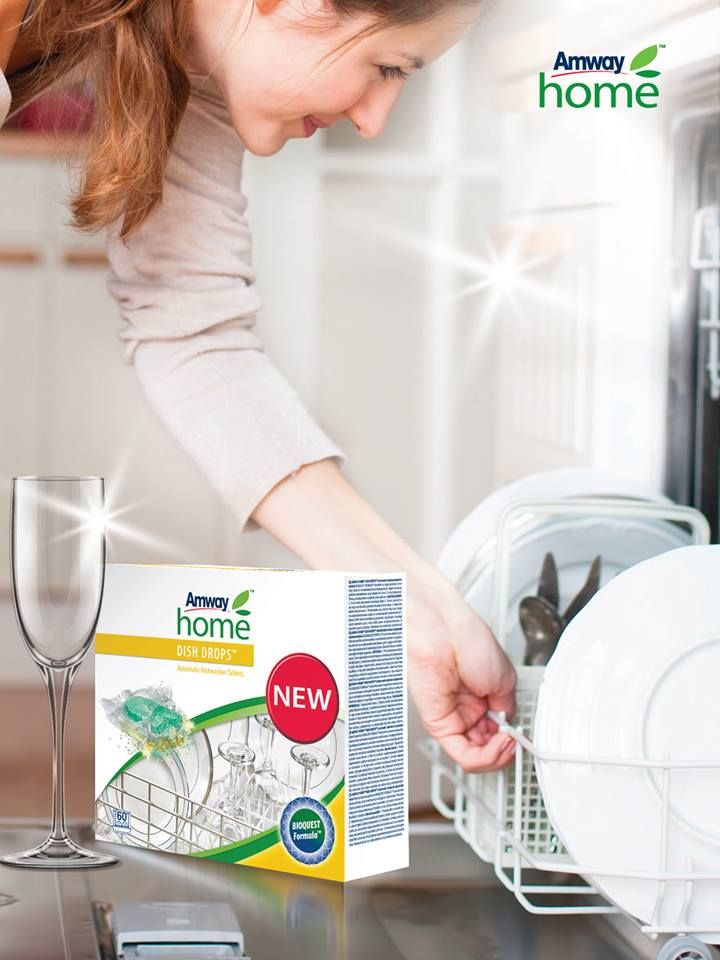 All Amway Home Products Need To Be Highly Effective Innovative And Environmentally Friendly Therefore Our Scientists Developed New Formula For Dish Drops Tabl