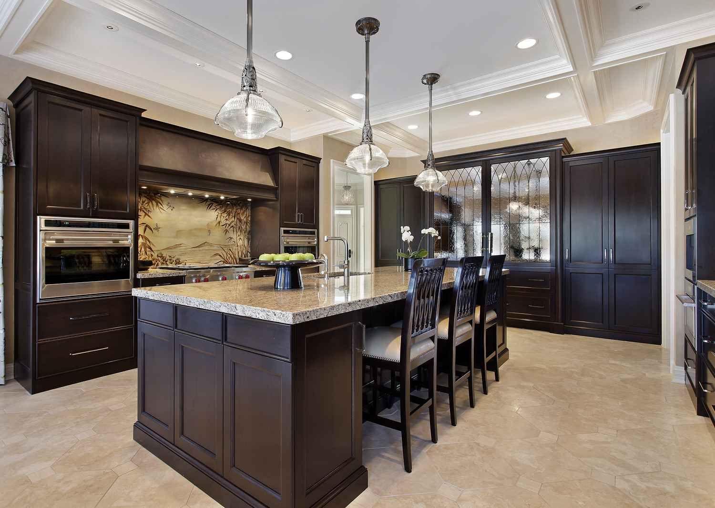 light hardwood floors with dark cabinets. Image Result For Light Wood Flooring Dark Cabinets Kitchen Hardwood Floors With F