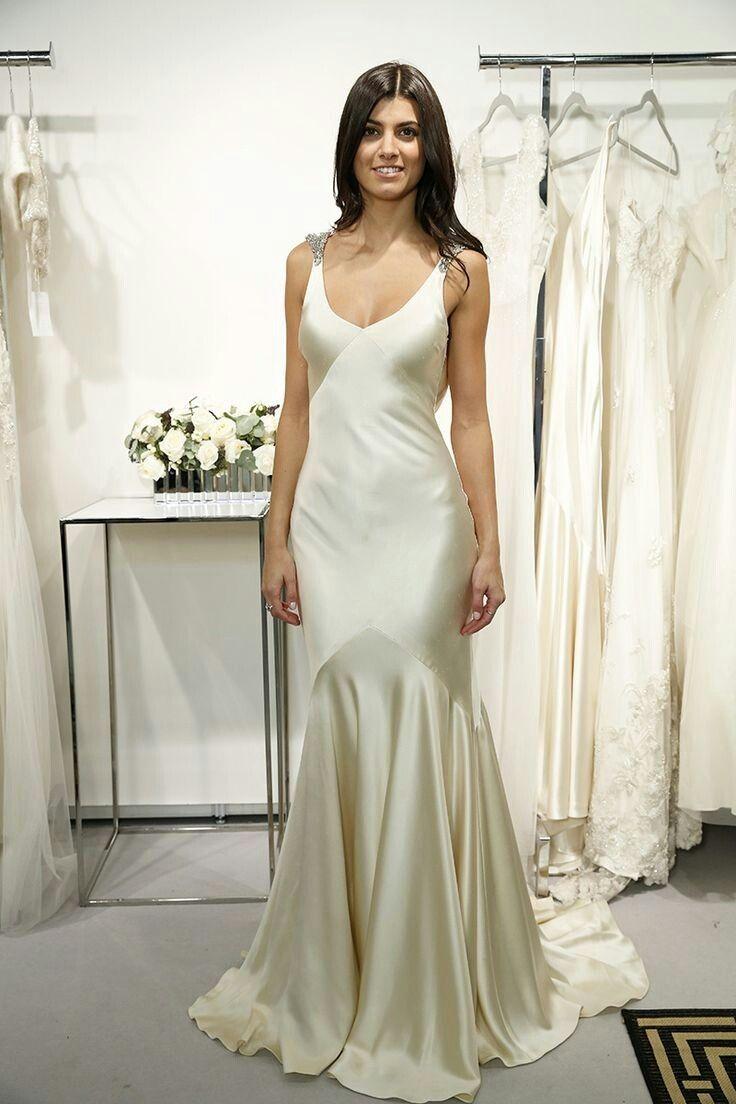 09d69132c0bb 800 BHLDN Celina Gown in Bride Wedding Dresses at BHLDN | Things to Wear in  2019 | Slip wedding dress, Bhldn wedding dress, Dresses