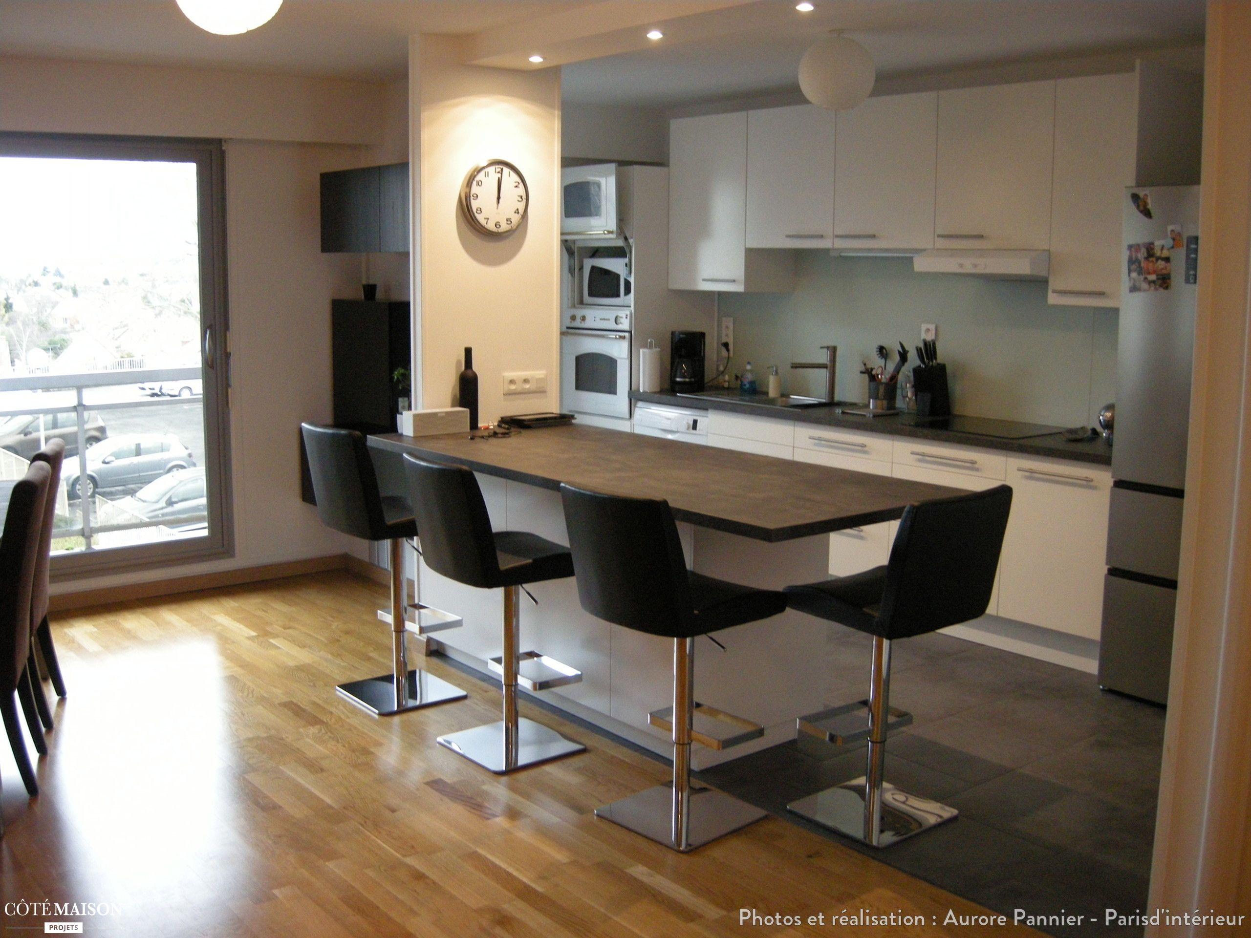 Vivre En Appartement Ou En Maison un appartement à ré agencer en ouvrant les volumes (cuisine
