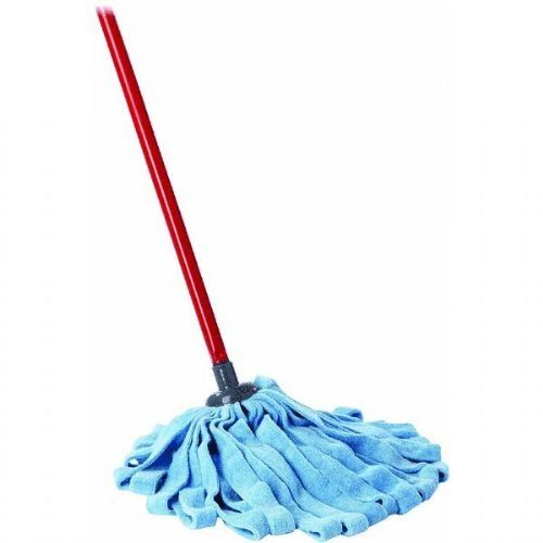 O Cedar Microfiber Cloth Mop With Extendable Handle Cleaning Tile Floors Red Blue