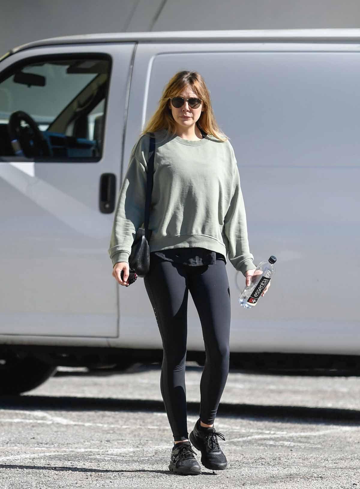 fc3c485fd9ed8 Elizabeth Olsen Workout Time-Los Angeles 25-01-2019 | CELEBRITIES ...