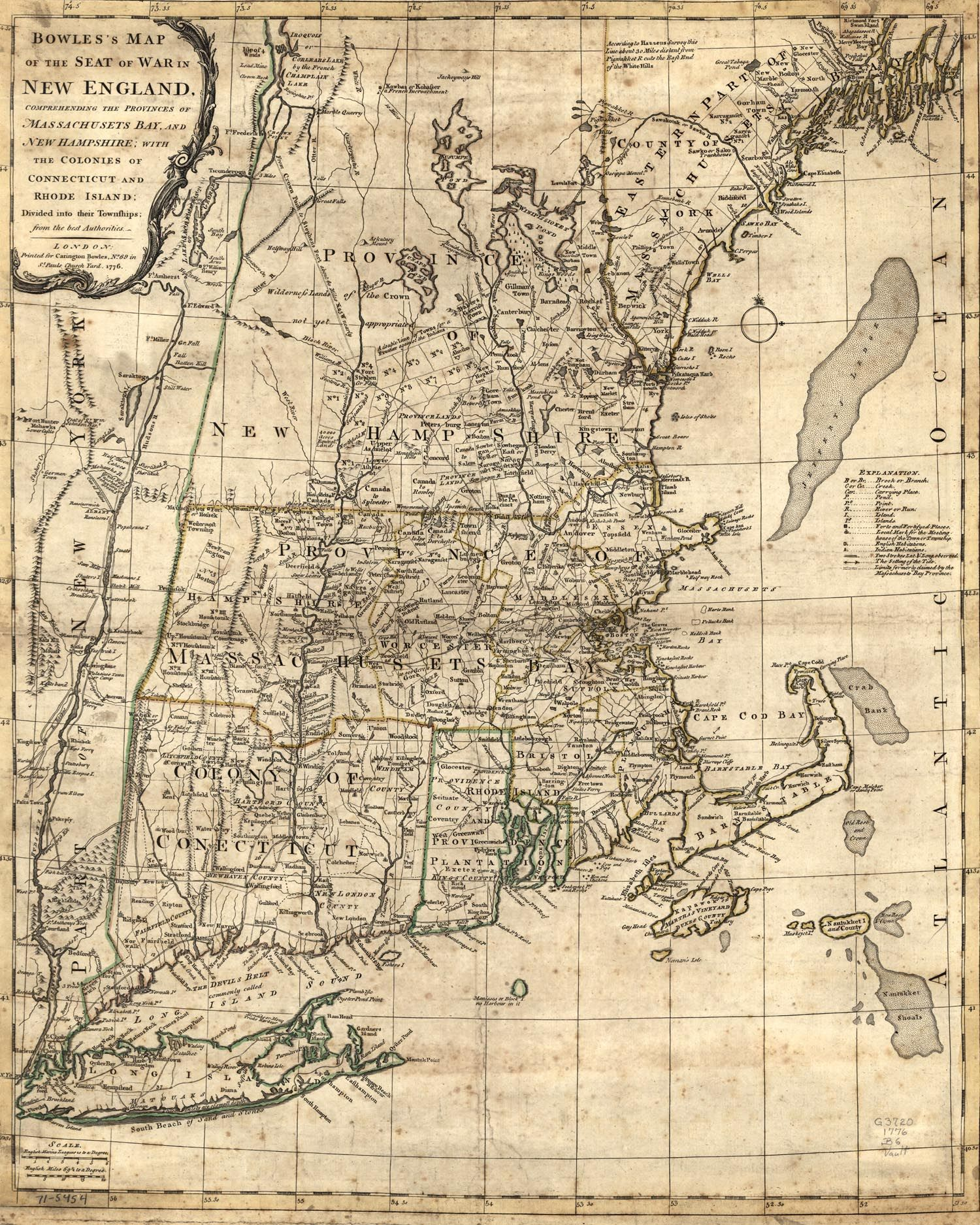 Colonial New England Map Of Colonial New England Via Trish - Map of us colonialism