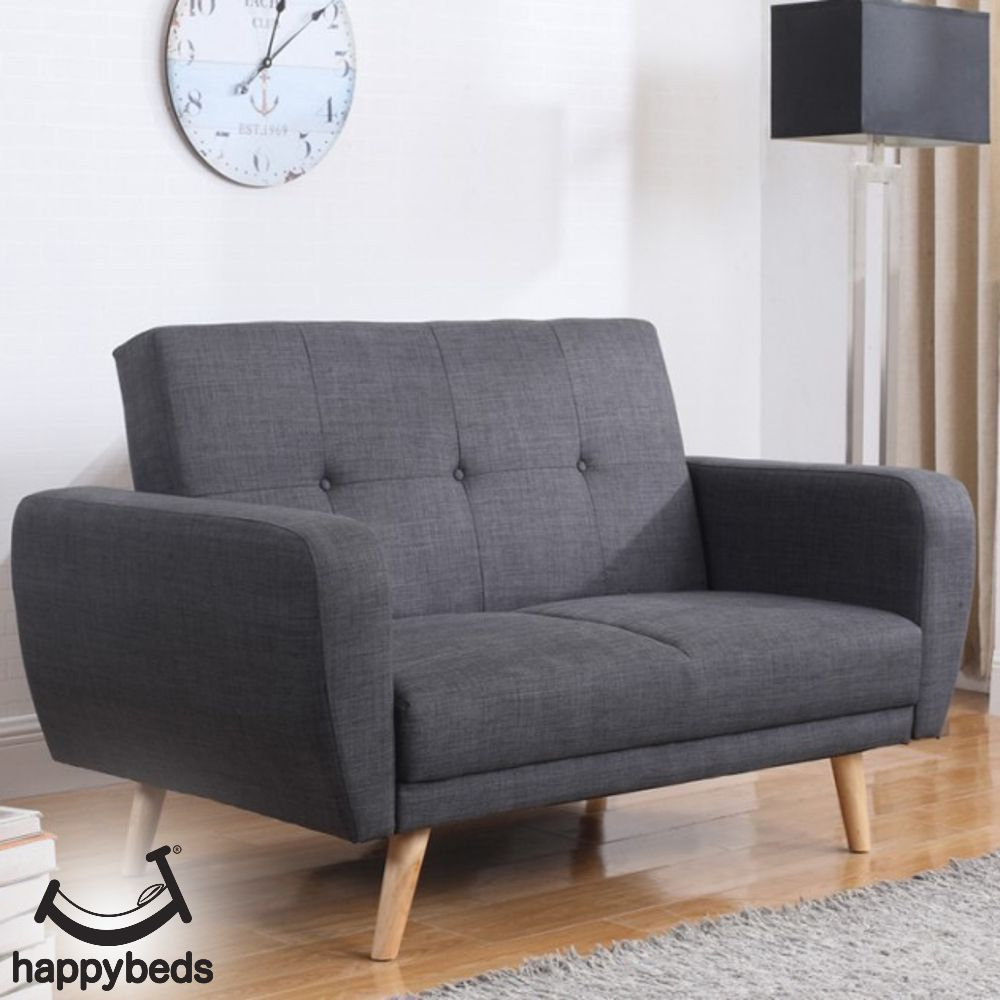 Farrow Grey Fabric Sofa Bed In 2020 Sofa Bed With Storage Fabric Sofa Bed Contemporary Sofa Bed