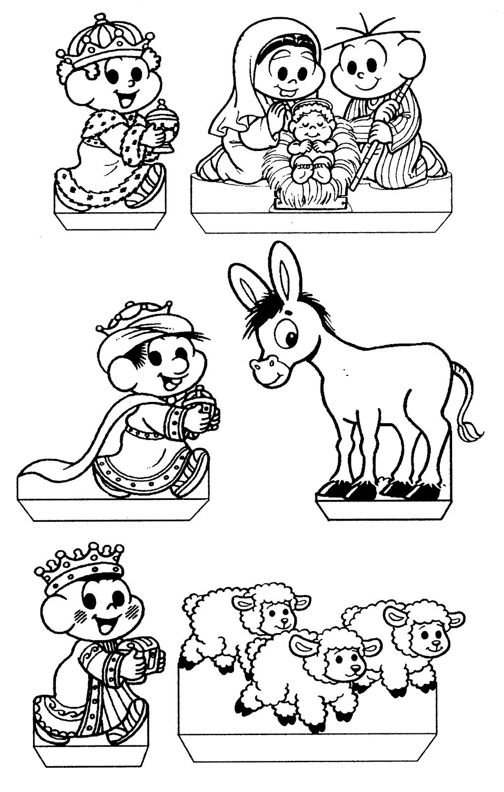 Resultado De Imagem Para Desenhos Turma Da Monica Para Colorir