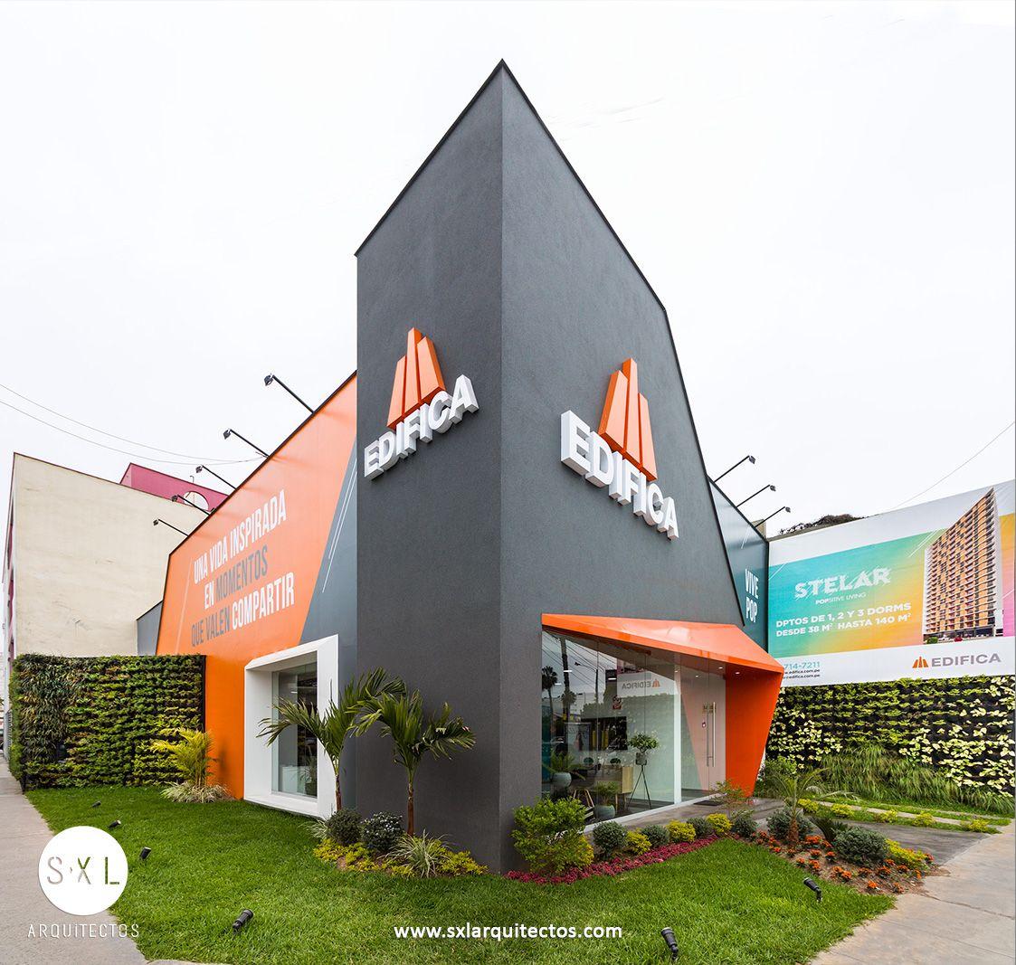 Dise o de sala de ventas para promoci n inmobiliaria for Diseno locales comerciales