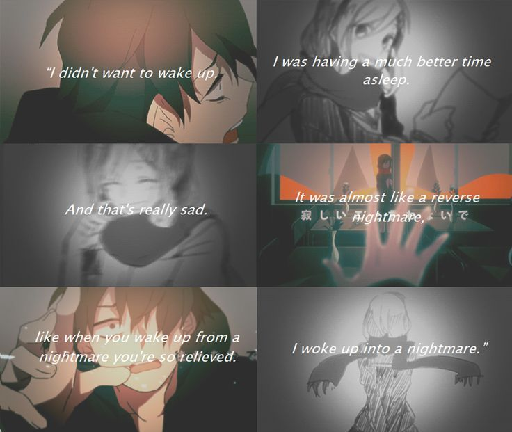 Image Result For Most Depressing Anime Quotes