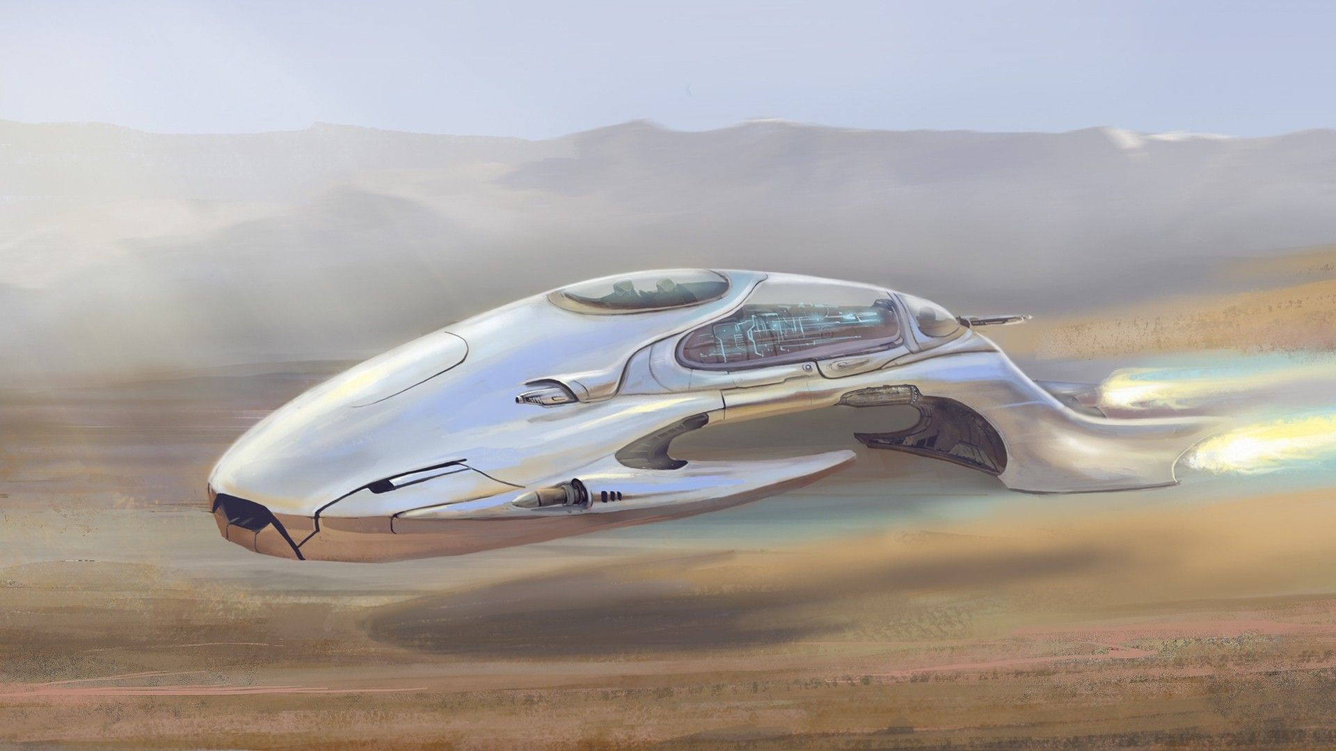 Exceptional Futuristic Wallpapers | Futuristic Aircraft HD Wallpapers