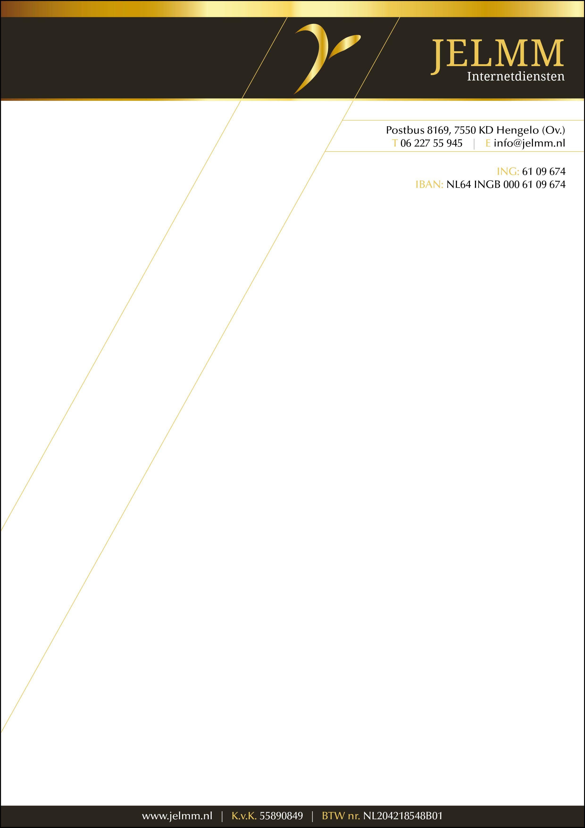Briefpapier JELMM Internetdiensten