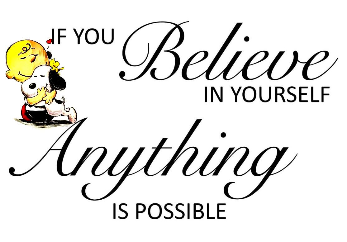 Believing in yourself is one the key to achieving success in life. You have to do what you want because there's no one who can stand in your place. You have to know that you are so much better than…