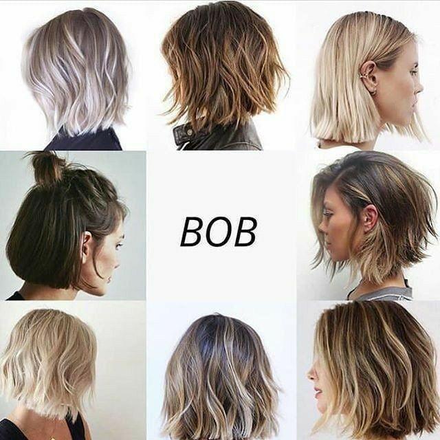30 Ideas Para Peinados Cortos Manitas Diy Estilos De Cabello Corto Cabello Bob Mediano Peinados Cabello Corto