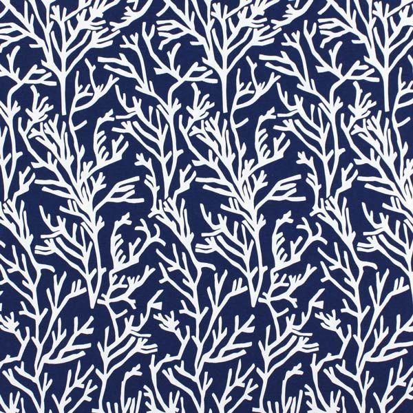 Manglar 6 - azul marino - Azul - El mundo del jardín - Telas - Más ...