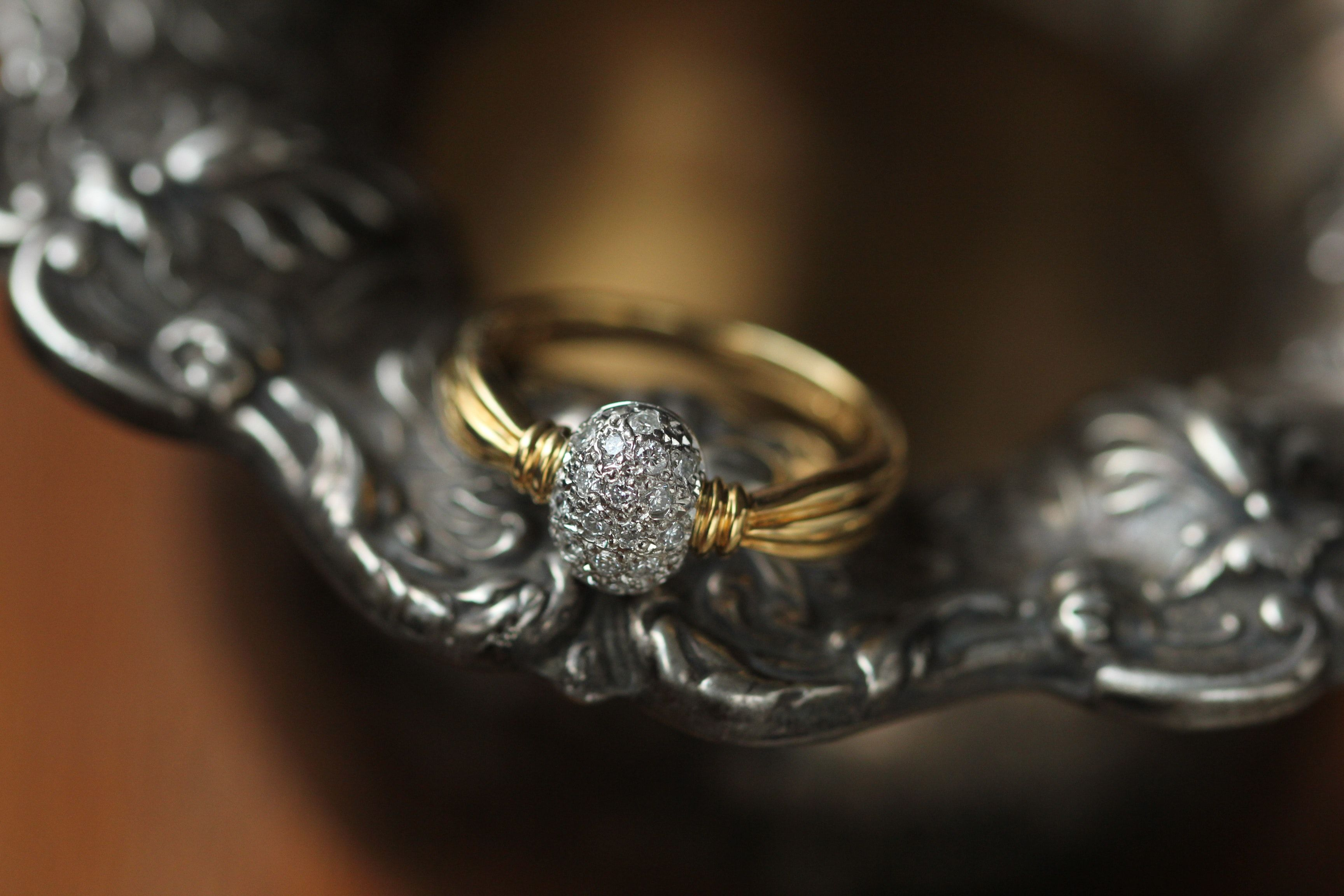 Unusual Gold Ring in 2020 Fashion rings, Personalized