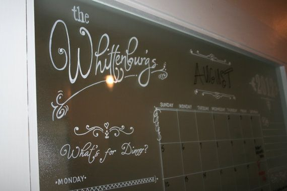 Dry Erase Glass or Mirror Message Board by ...