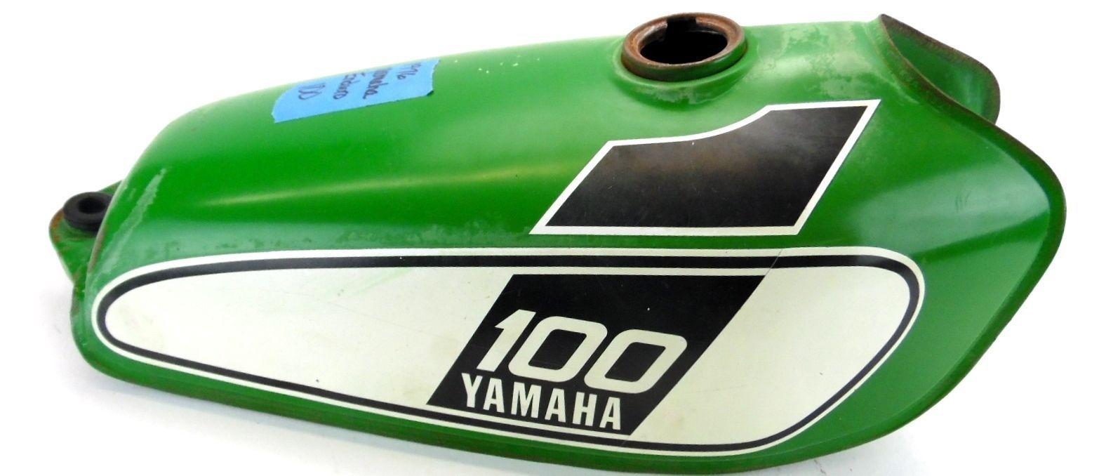 1976 Yamaha Enduro Dt100 Gas Tank Dt 100 Fuel Ebay Dt360 Wiring Diagram Motorcycle Bike