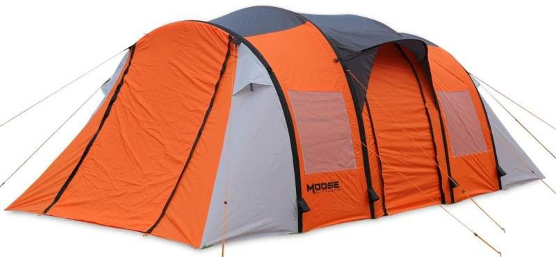 Moose Outdoors Inflatable Tent 10 Person 3 Rooms Tent Family Tent Camping Tent Camping