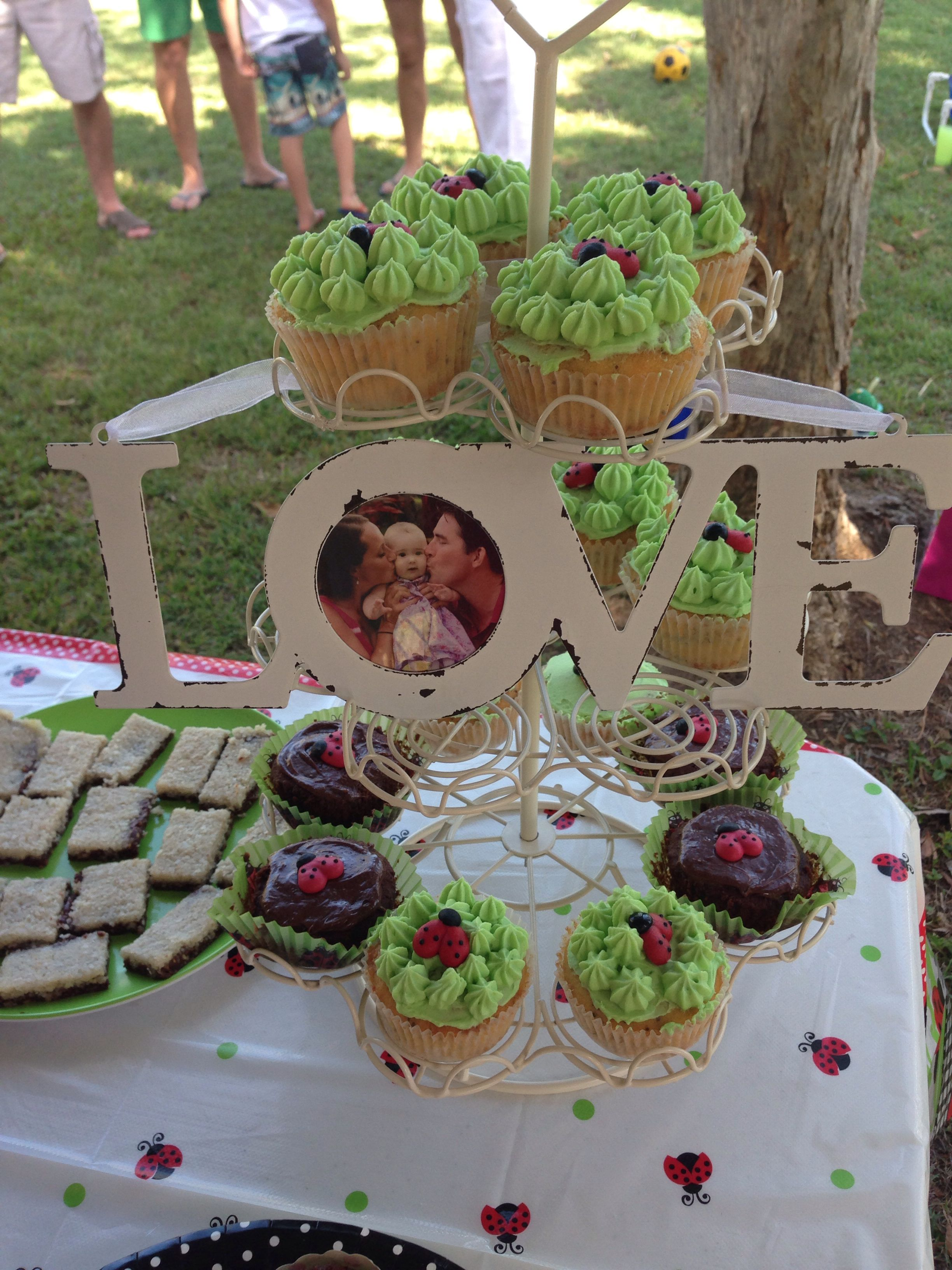 Ladybird cupcakes