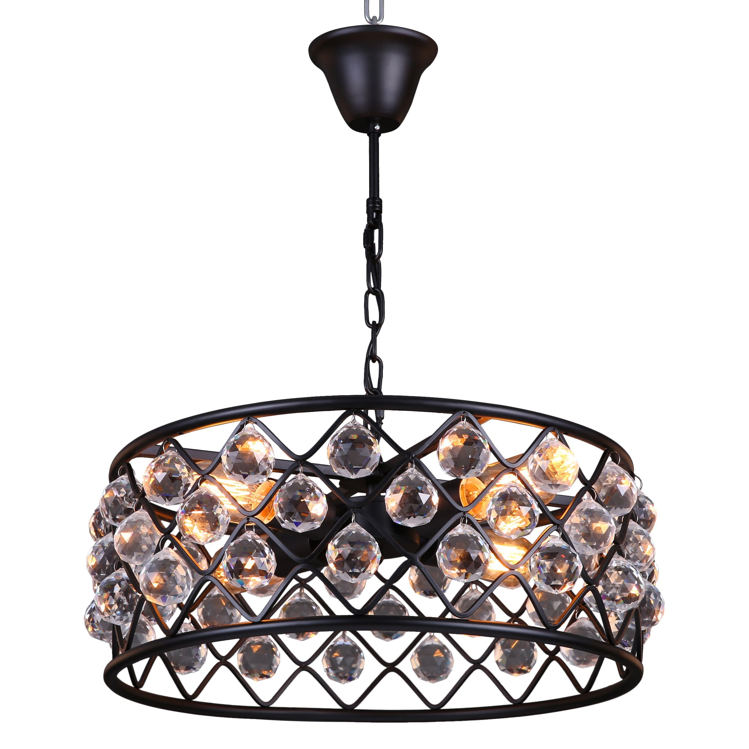 journee lighting. Journee Home \u0027Crystal Orbit\u0027 7 In Hard Wired Iron Crystal Pendant Light Lighting 0
