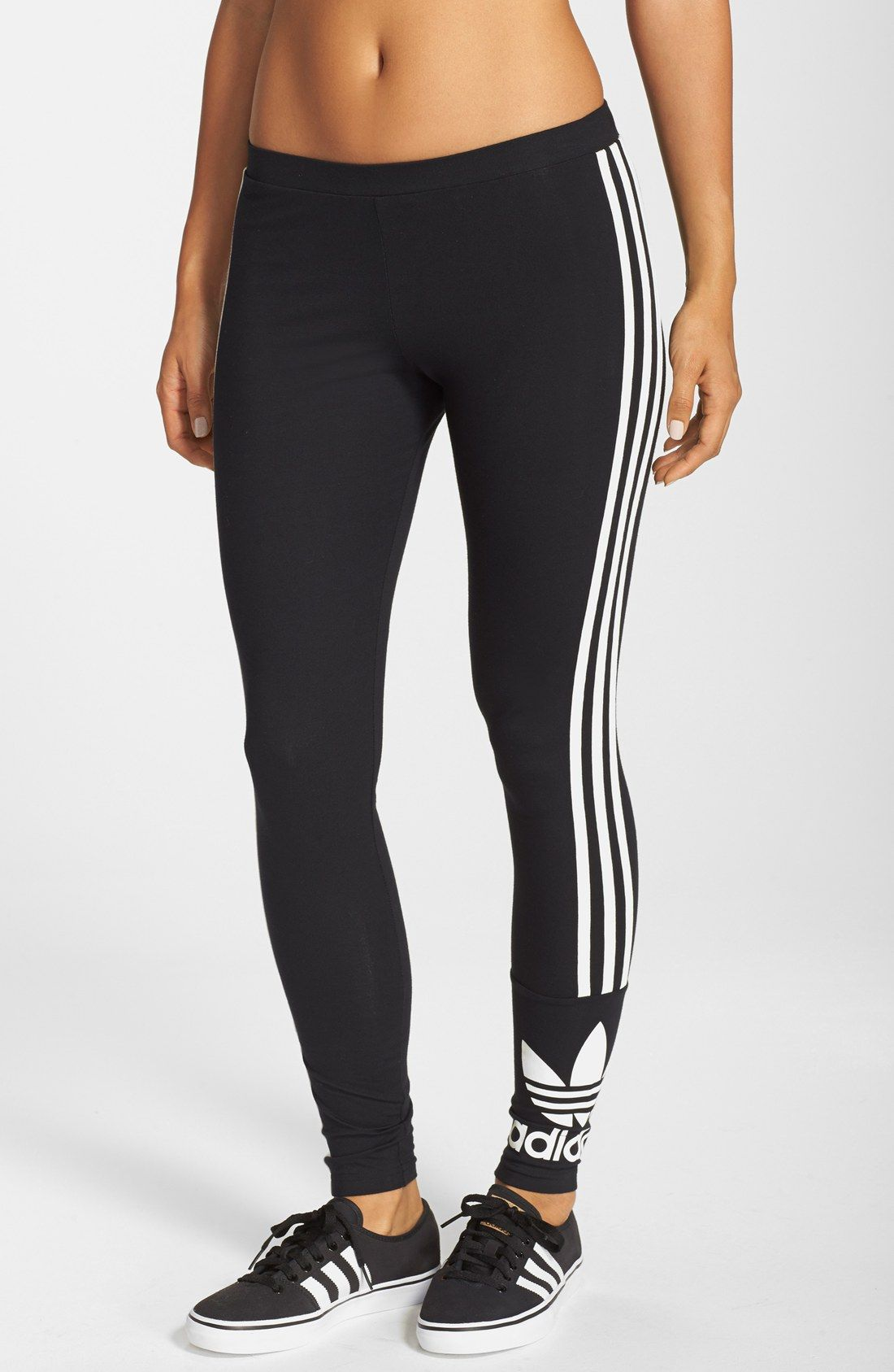 Details about Adidas Leggings Women's Stretch Trousers Sports Pants Trackies Leggings